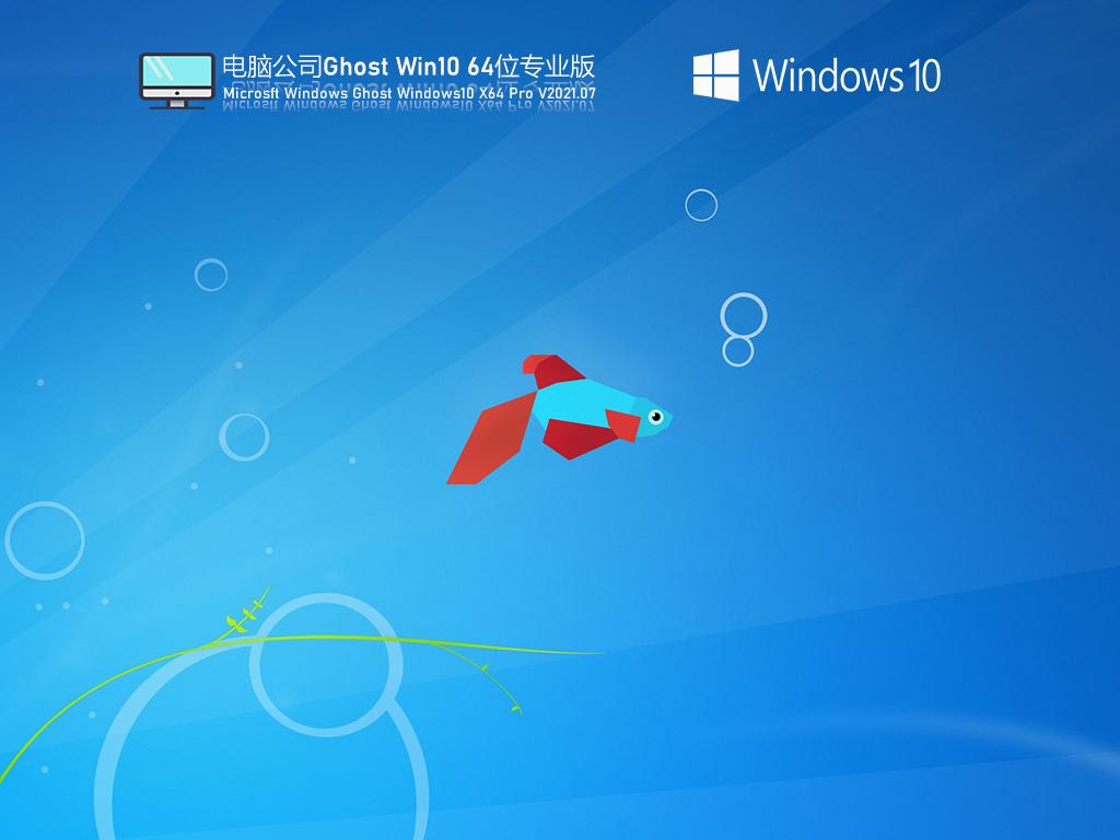 电脑公司Win10 64位 专业版V2021.09(专业版)