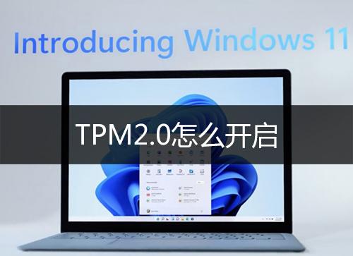 TPM2.0怎么开启