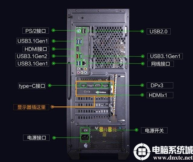 电脑开机之后显示器黑屏无信号输入,但主机一直在运行怎么解决?
